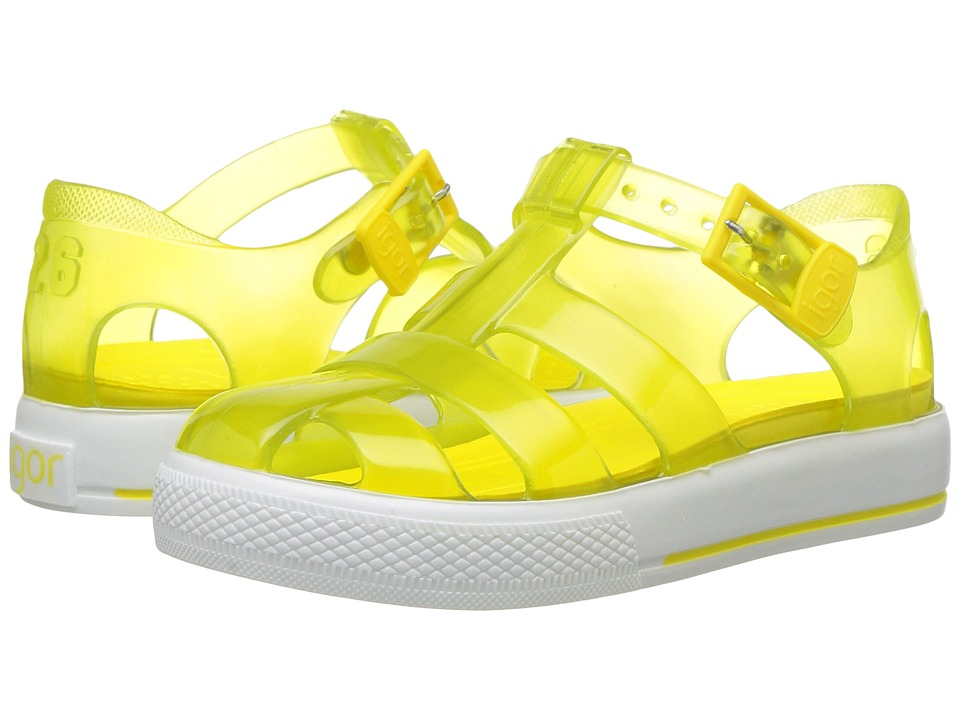 Igor - Tenis (Toddler/Little Kid) (Yellow) Girl's Shoes