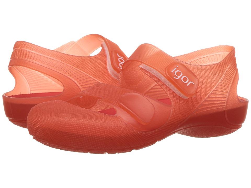 Igor - Bondi (Infant/Toddler/Little Kid) (Red) Girl's Shoes
