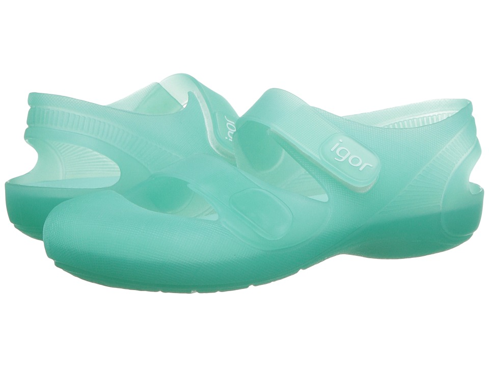 Igor - Bondi (Infant/Toddler/Little Kid) (Aquamarine) Girl's Shoes