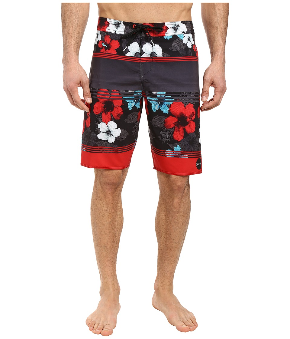 O'Neill - Hyperfreak Essence Boardshorts (Black) Men's Swimwear