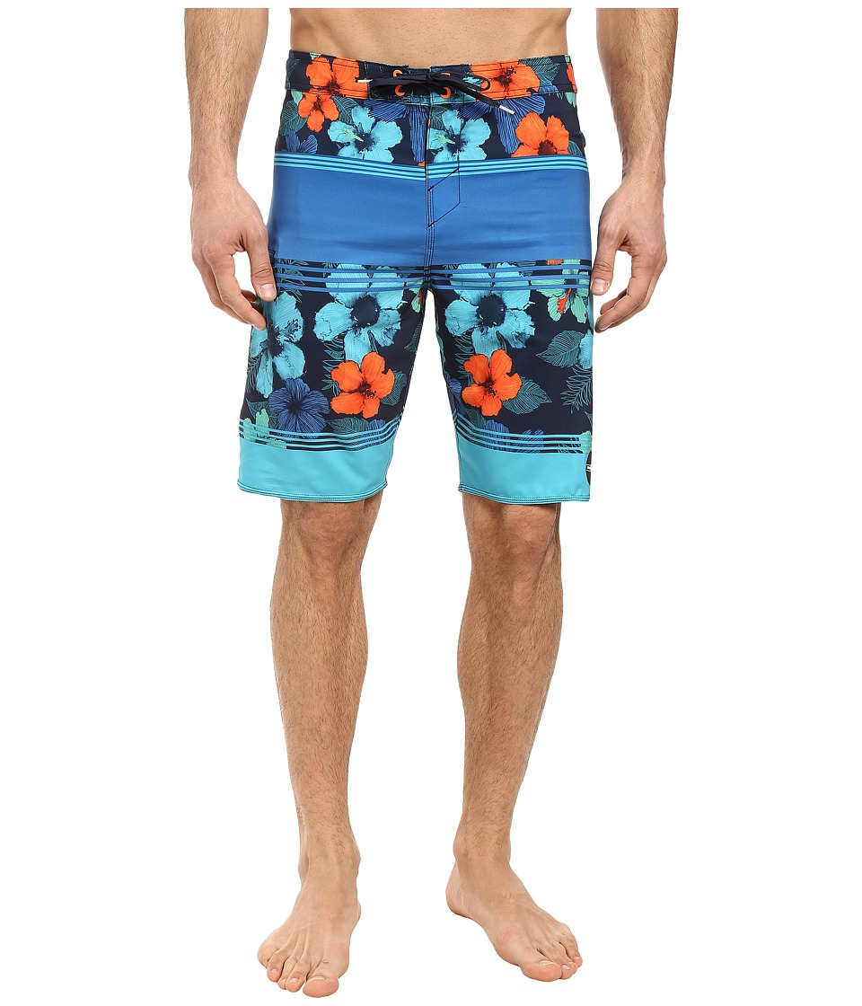 O'Neill - Hyperfreak Essence Boardshorts (Navy) Men's Swimwear