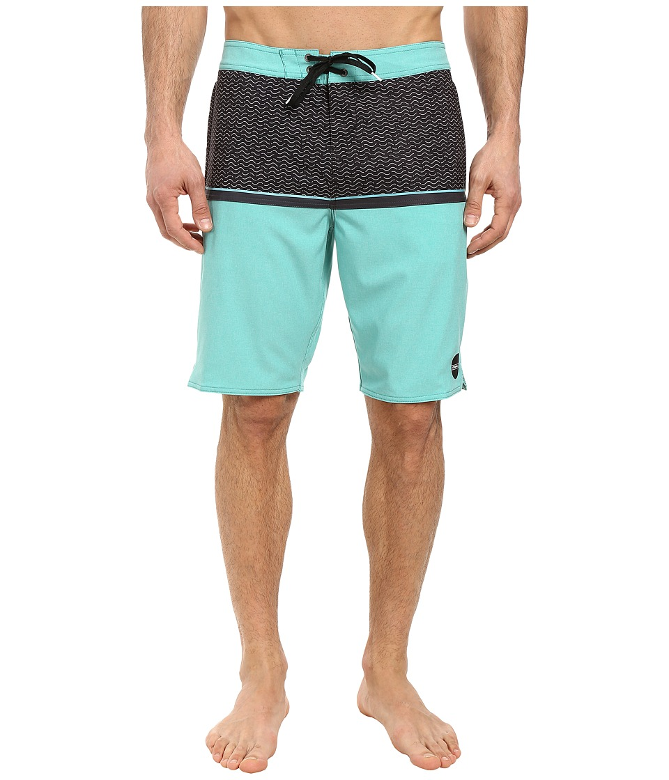 O'Neill - Hyperfreak Algarve Boardshorts (Aqua) Men's Swimwear