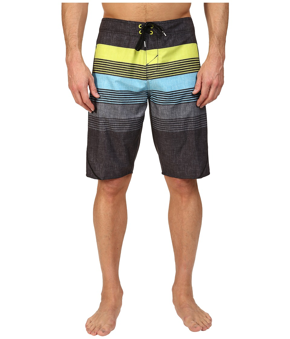O'Neill - Hyperfreak Latitude Boardshorts (Black) Men's Swimwear