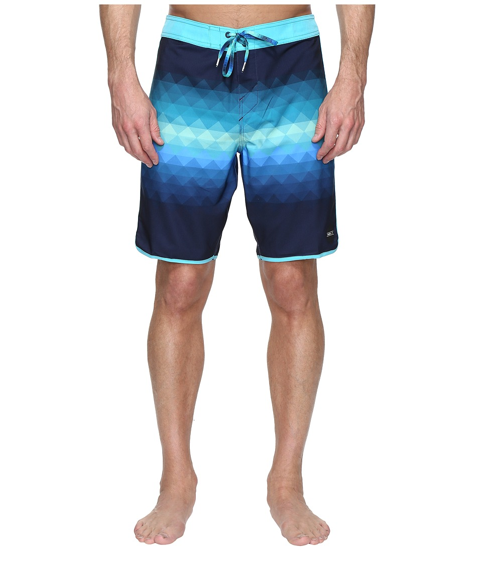 O'Neill - Hyperfreak Prism Boardshorts (Navy) Men's Swimwear