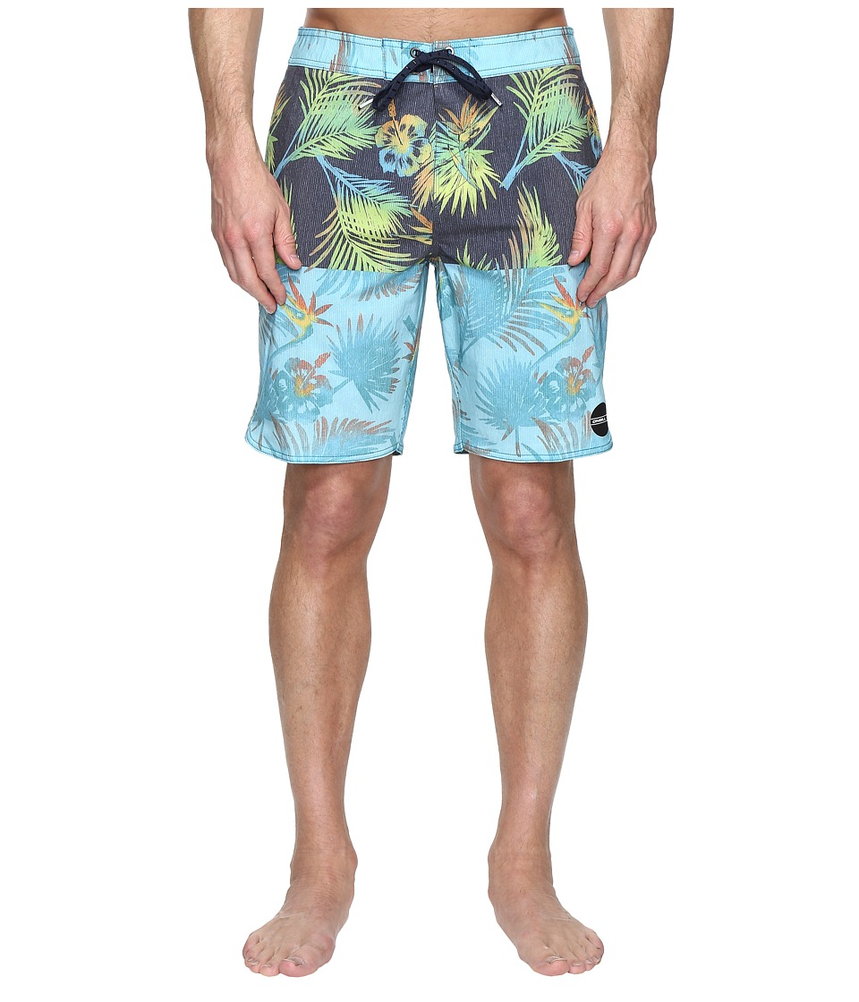 O'Neill - Hyperfreak Nectar Boardshorts (Navy) Men's Swimwear