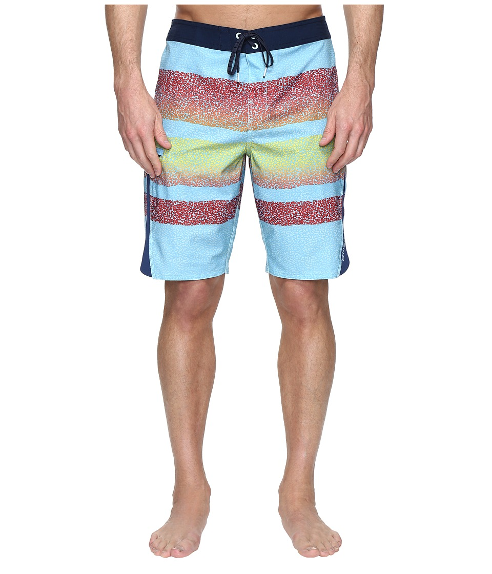 O'Neill - Superfreak Zeus Boardshorts (Light Blue) Men's Swimwear