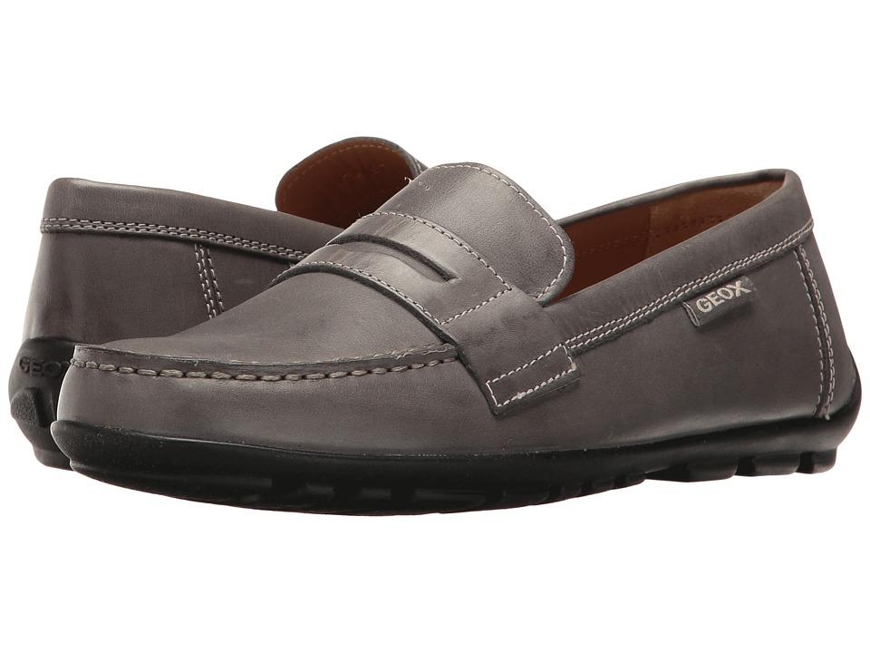 Geox Kids - Jr Fast 21 (Big Kid) (Dark Grey) Boy's Shoes