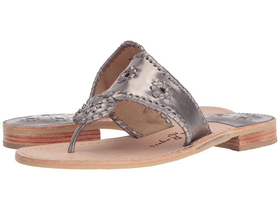Jack Rogers - Westhampton (Pewter/Pewter) Women's Shoes