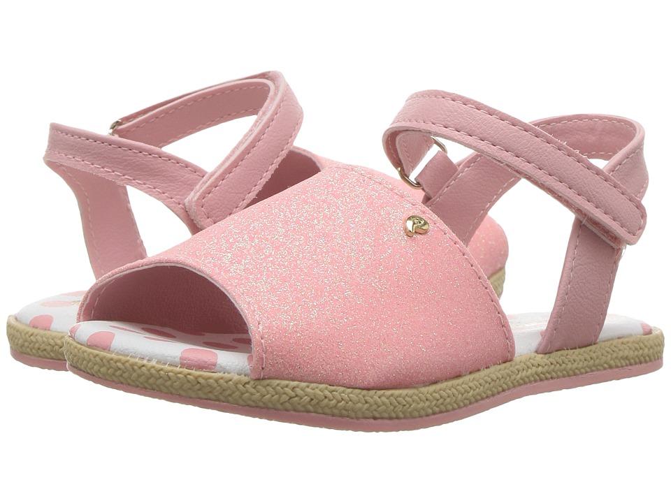 Pampili - Flor Espadrilhe 163003 (Toddler) (Rosa Moreno) Girl's Shoes