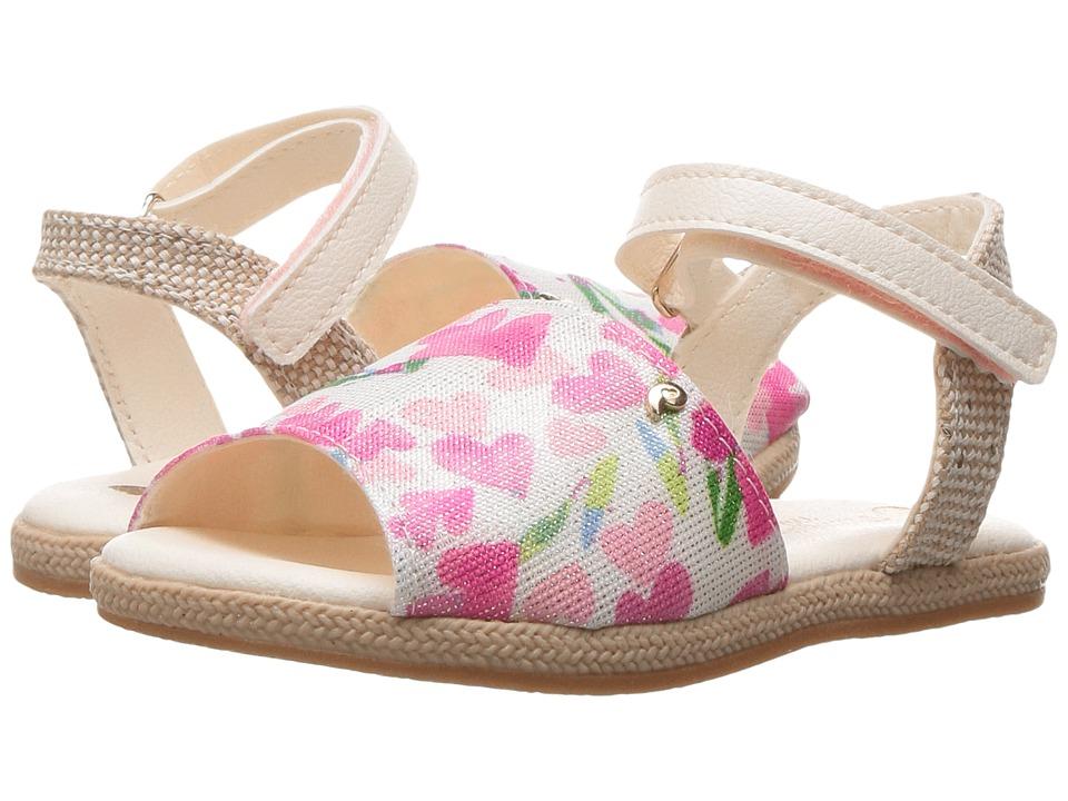 Pampili - Flor Espadrilhe 163007 (Toddler) (Tapioca/Tapioca) Girl's Shoes