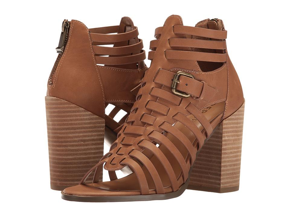 Report Beckett (Tan Synthetic) High Heels