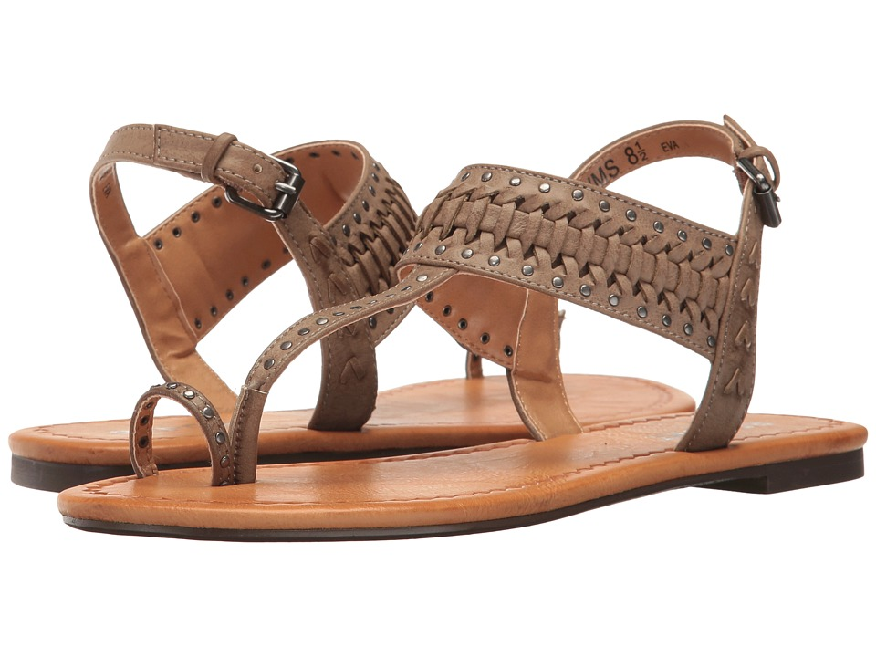 Report - Eva (Taupe Synthetic) Women's Sandals