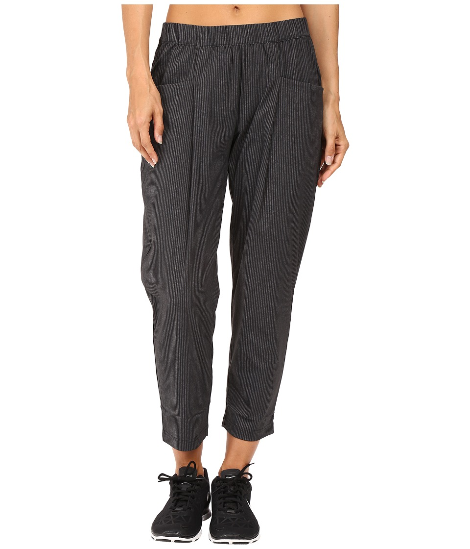 Lucy - Rogue Trousers (Black Heather Stripe) Women's Casual Pants