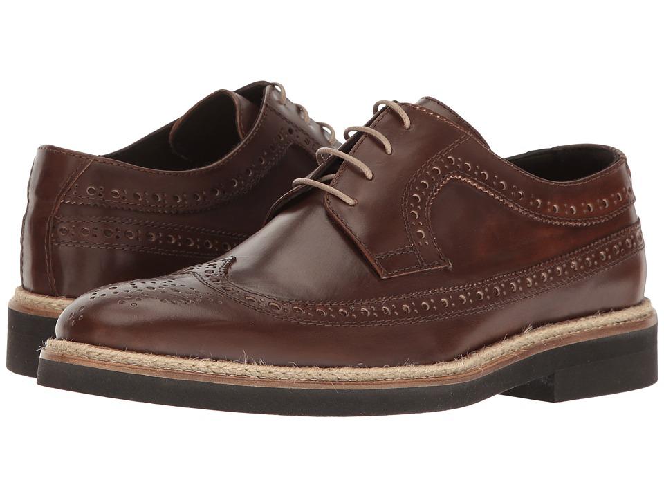 BUGATCHI - Sondrio Derby (Marrone) Men's Shoes