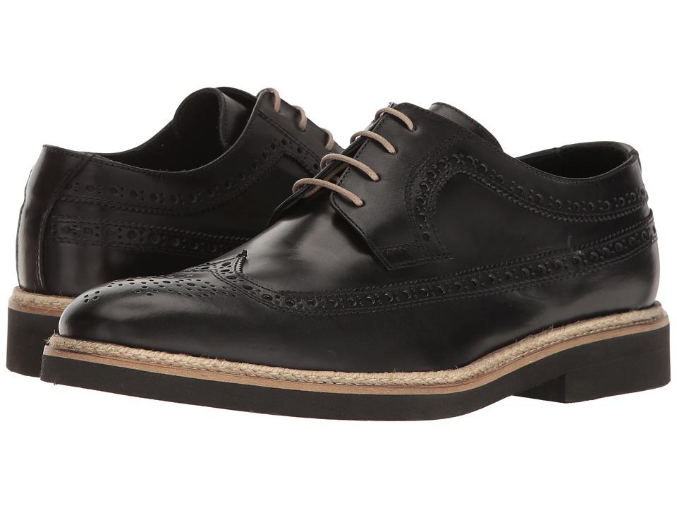 BUGATCHI - Sondrio Derby (Nero) Men's Shoes