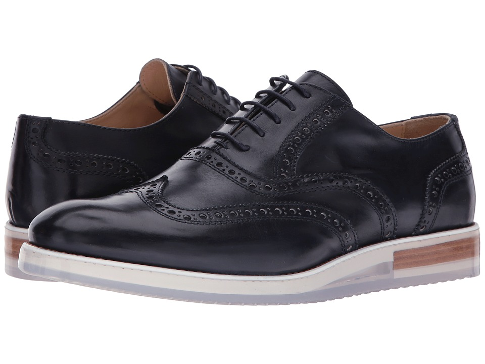 BUGATCHI - Murano Brogue (Navy) Men's Shoes