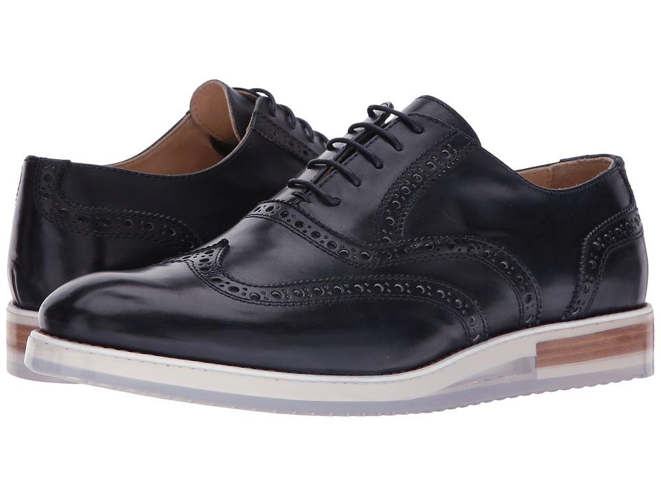 BUGATCHI - Murano Brogue (Navy) Men's Shoes