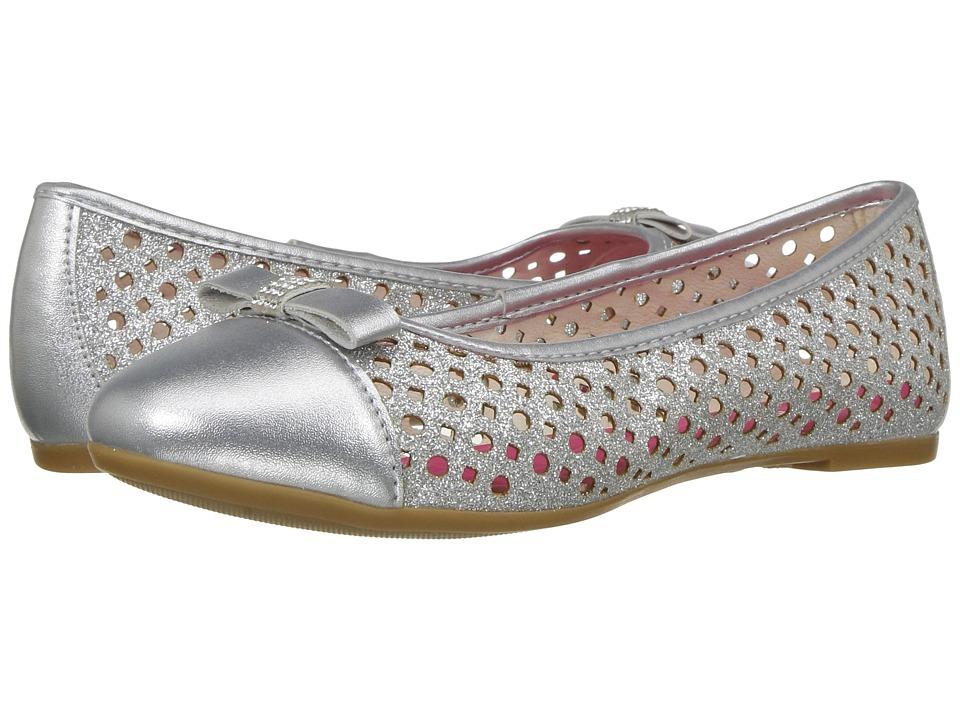 Pampili - Slim 211088 (Little Kid/Big Kid) (Silver) Girl's Shoes