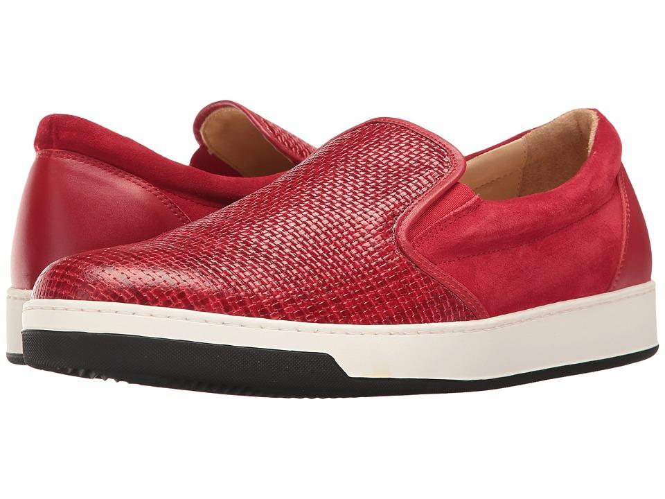 BUGATCHI - Cinque Terre Sneaker (Rosso) Men's Shoes