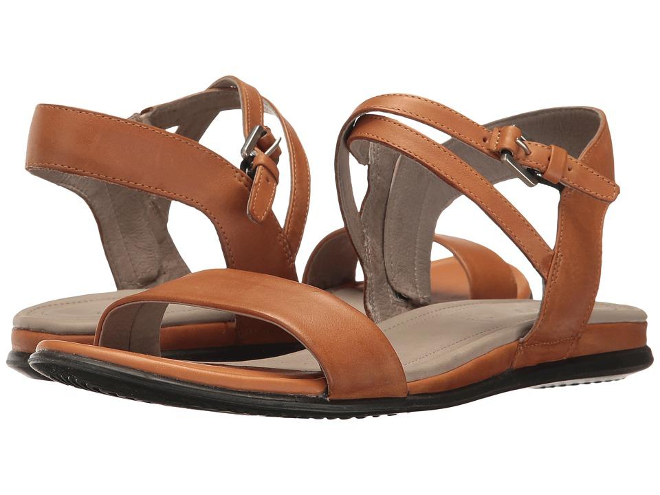 ECCO - Touch Ankle Sandal (Lion Cow Nubuck) Women's Sandals