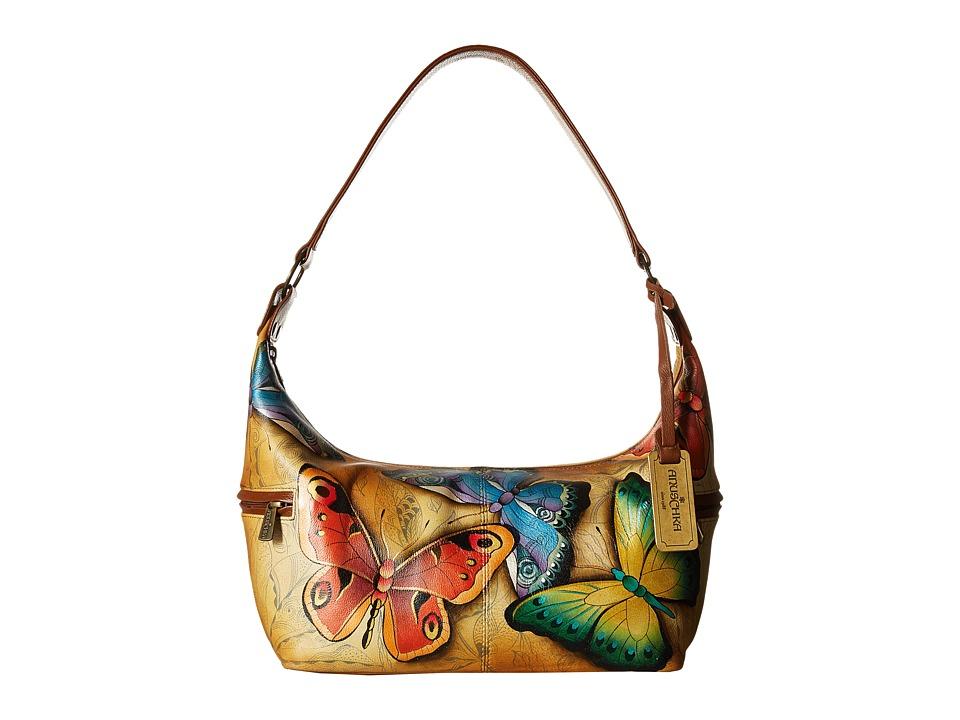Anuschka Handbags - 510 East West Medium Hobo (Earth Song) Hobo Handbags