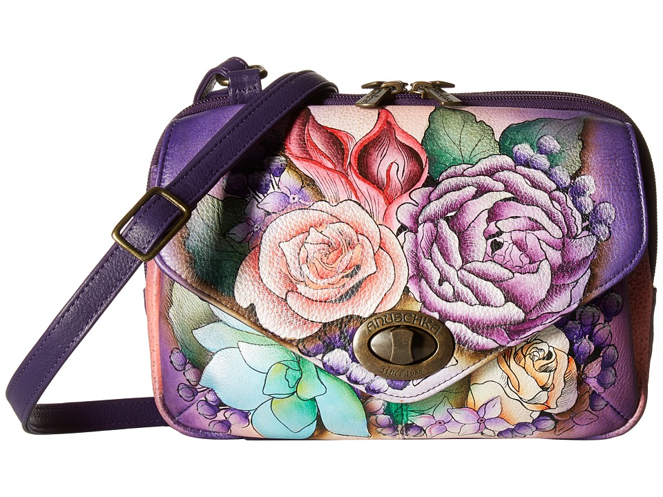 Anuschka Handbags - 593 (Lush Lilac) Handbags