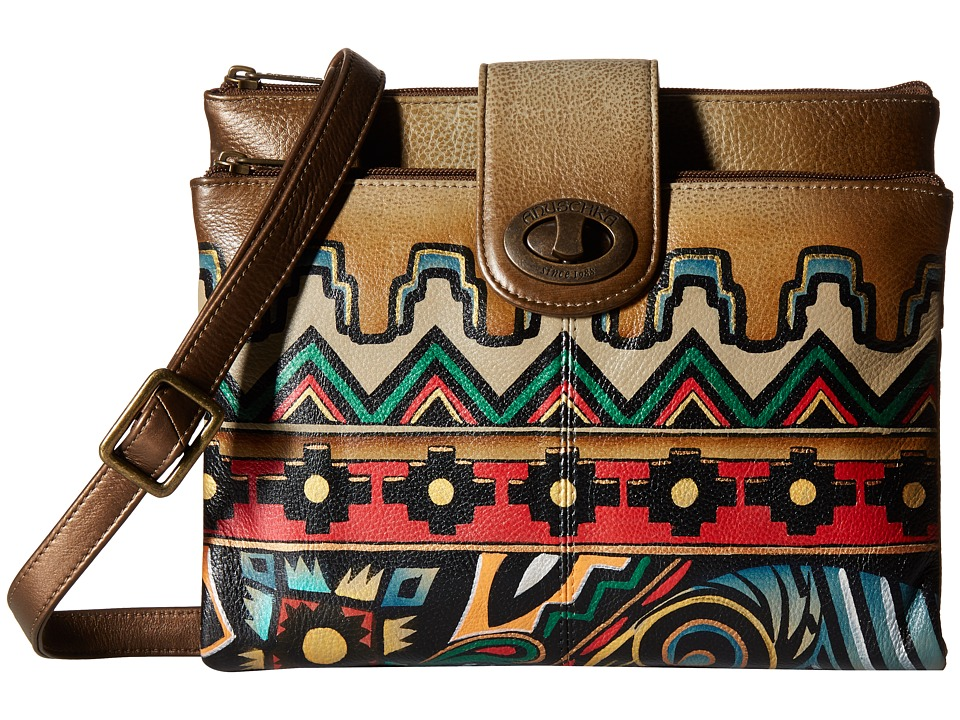 Anuschka Handbags - 595 (Antique Aztec) Handbags