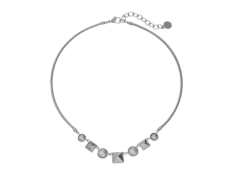 Majorica - Why Not? Silver Necklace (White) Necklace