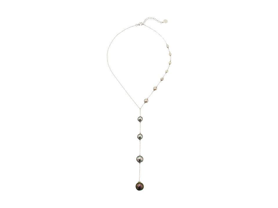 Majorica - Illusion Y Necklace (Multi) Necklace