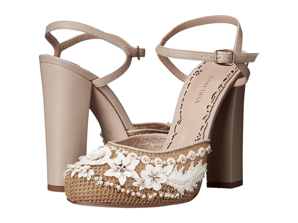 Marchesa - Megan (Gold) Women's Shoes
