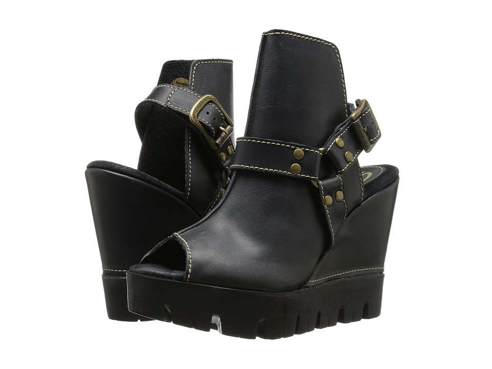 Sbicca - Rayanne (Black) Women's Wedge Shoes