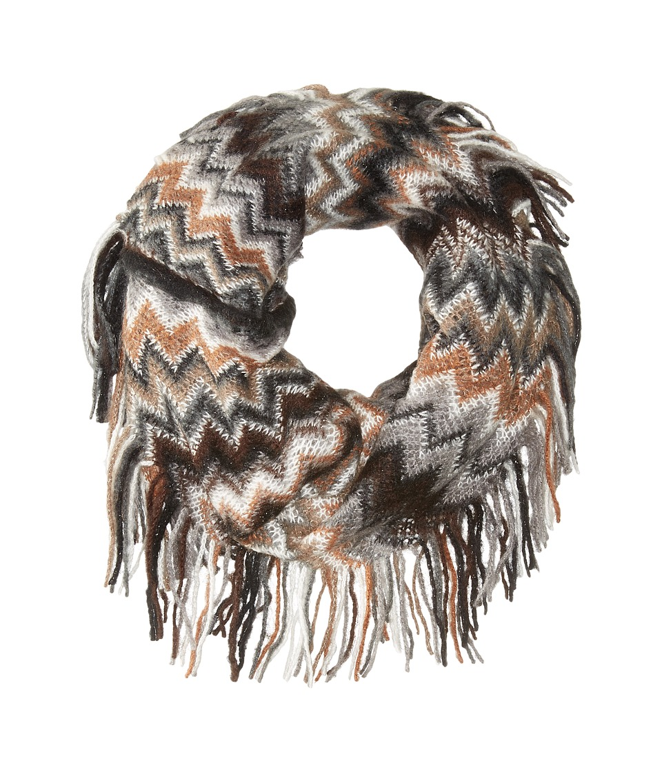 Steve Madden - All Over Zigzag Snood (Neutral) Scarves