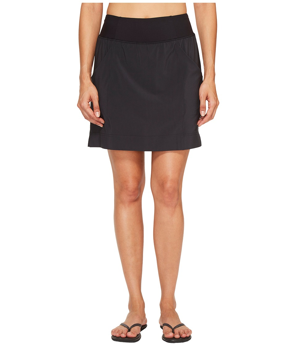 Lucy - Arise and Align Skort (Lucy Black Heather Stripe) Women's Skort