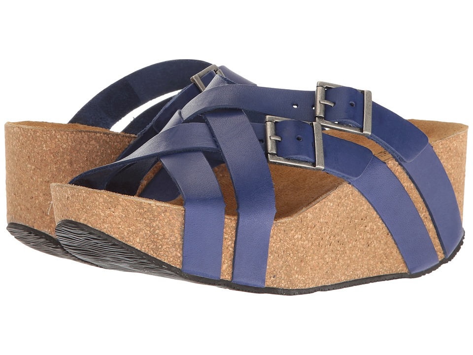 Eric Michael - Joan (Blue) Women's Wedge Shoes