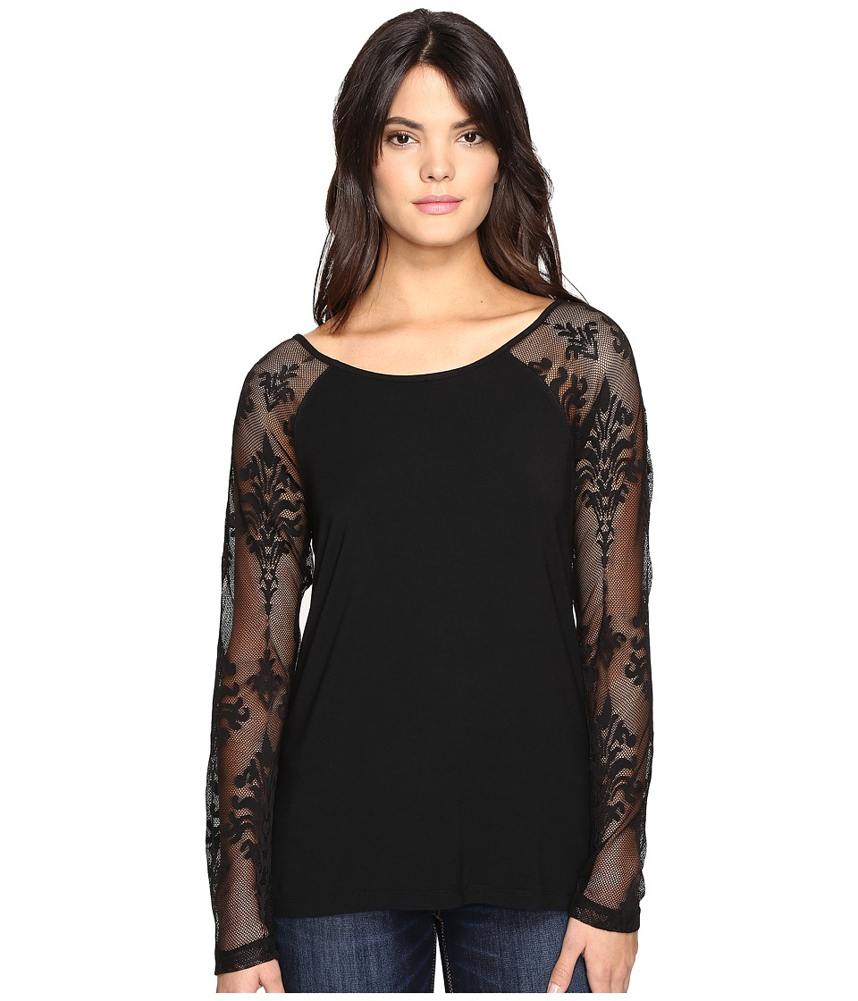 Tart - Caitlin Top (Black) Women's Clothing