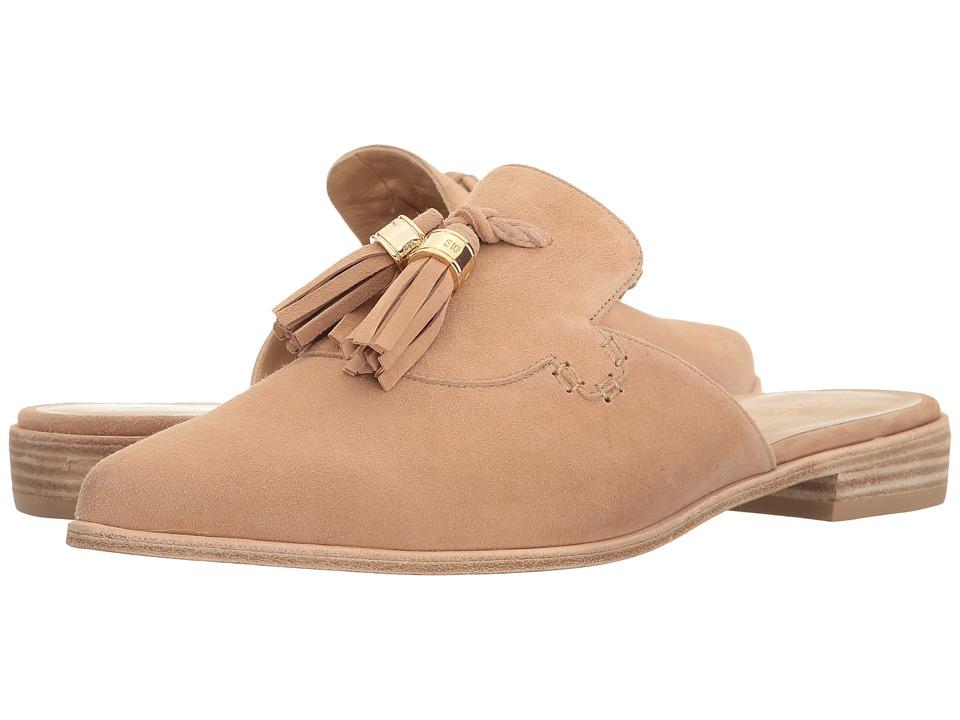 Stuart Weitzman - Slidealong (Cashew Suede) Women's Shoes
