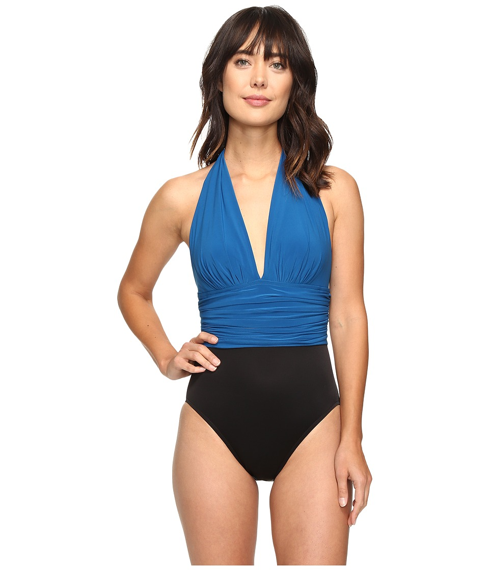 Magicsuit - Solids Yves One-Piece (Ocean) Women's Swimsuits One Piece