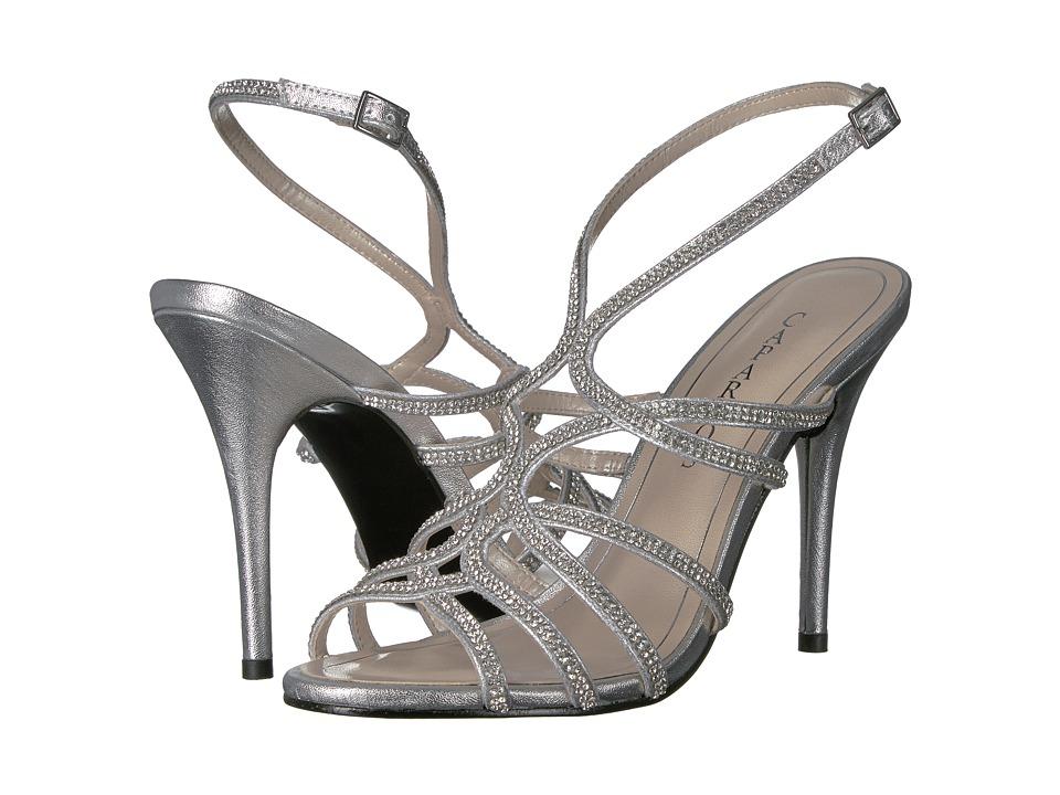 Caparros - Helena (Silver Metallic) High Heels