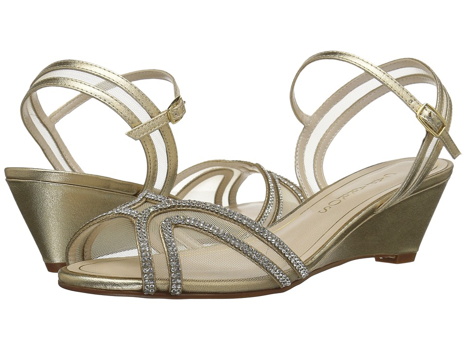 Caparros Hilton (Gold Metallic) Women
