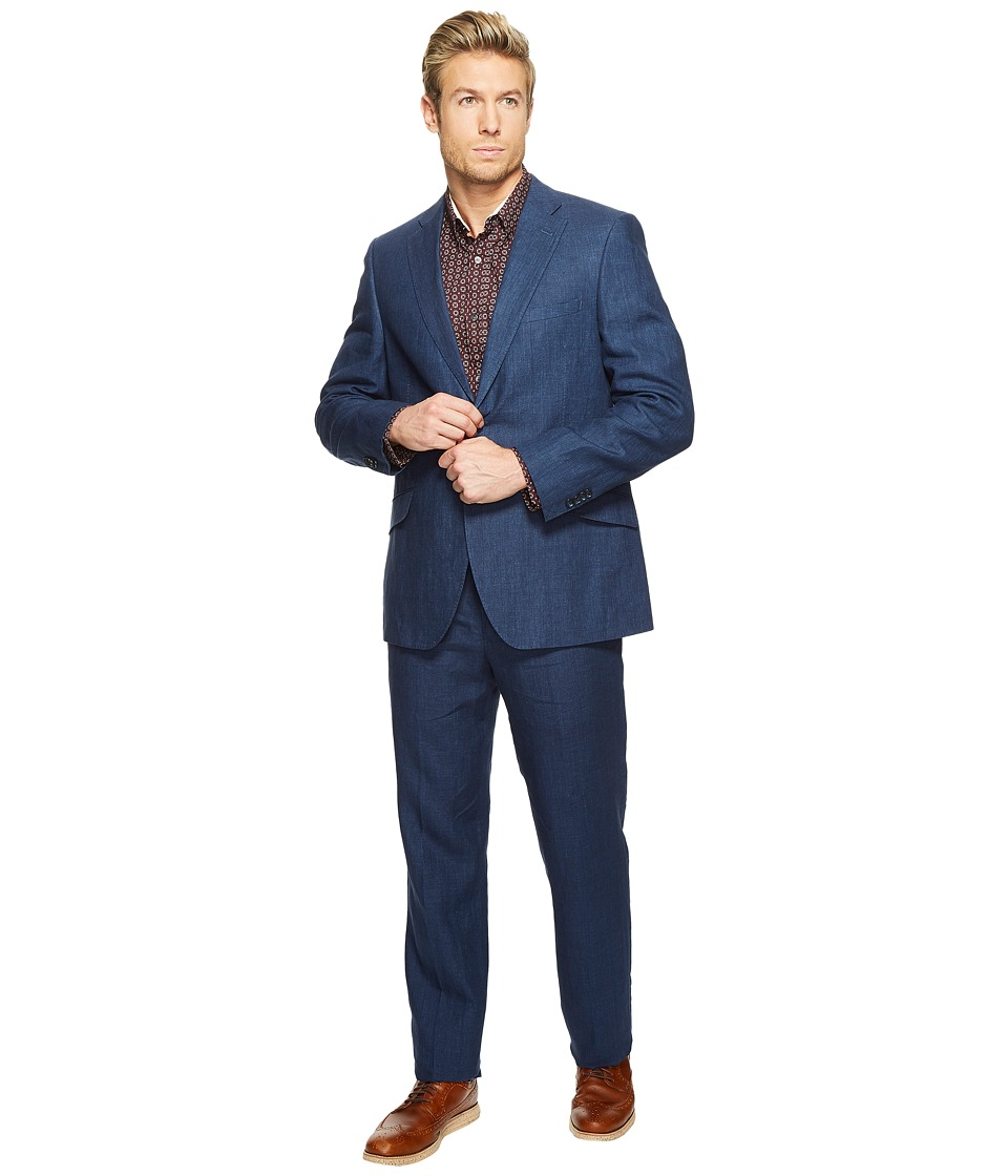 Kroon - Keidis Modern Fit Two-Button Stretch Blazer (Navy) Men's Suits Sets