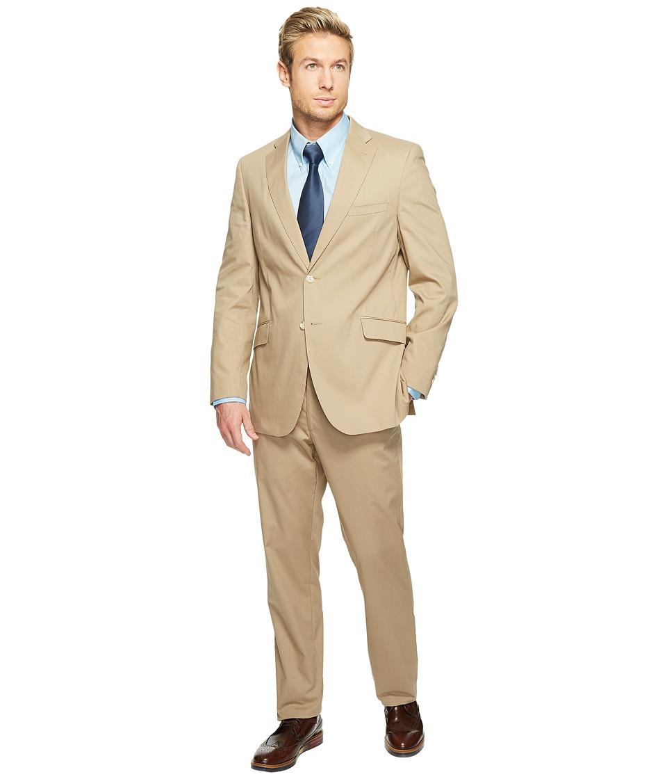 Kroon - Keidis Modern Fit Two-Button Stretch Blazer (Khaki) Men's Suits Sets
