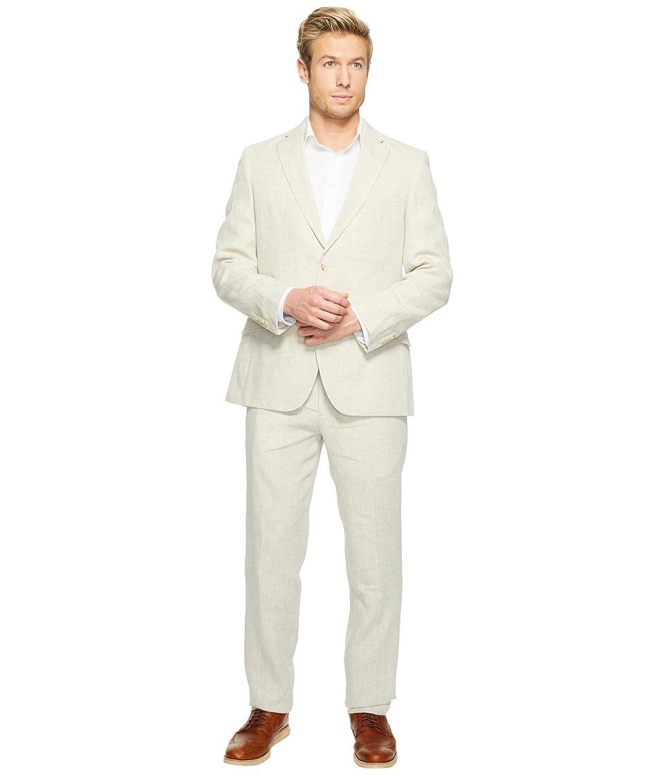 Kroon - Keidis Modern Fit Two-Button Stretch Blazer (Natural) Men's Suits Sets
