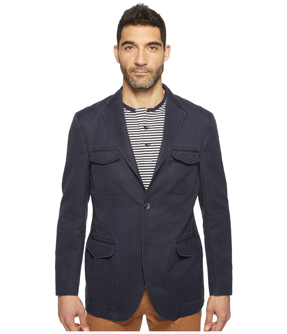 Kroon - Hozier Three-Button Hybrid Blazer (Navy) Men's Coat