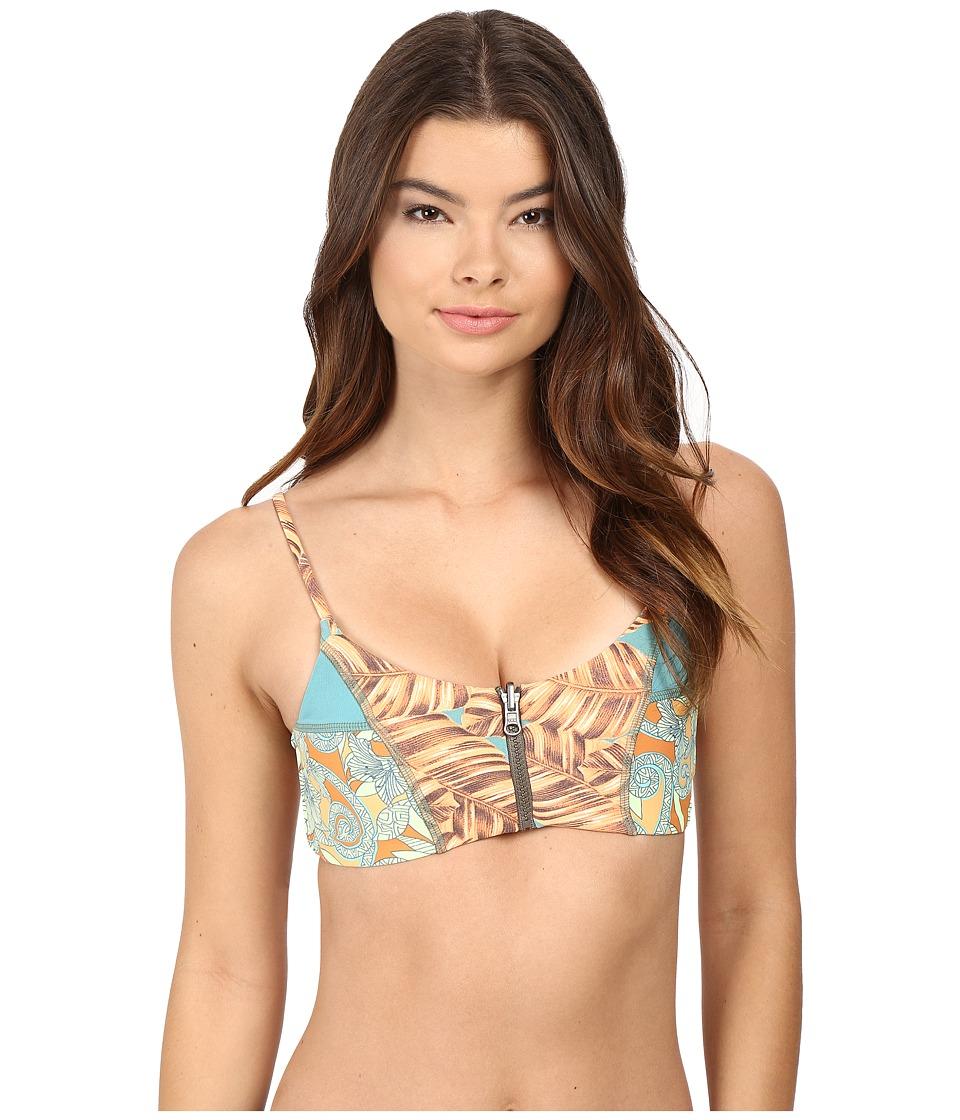 Maaji - Hot To Trot Fashion Top Without Soft Cups (Green) Women's Swimwear