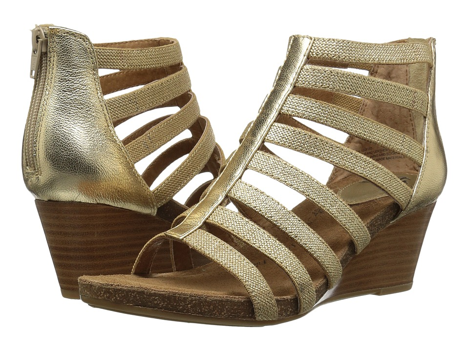 Sofft - Mati (Rich Gold Foil Goat) Women's Shoes