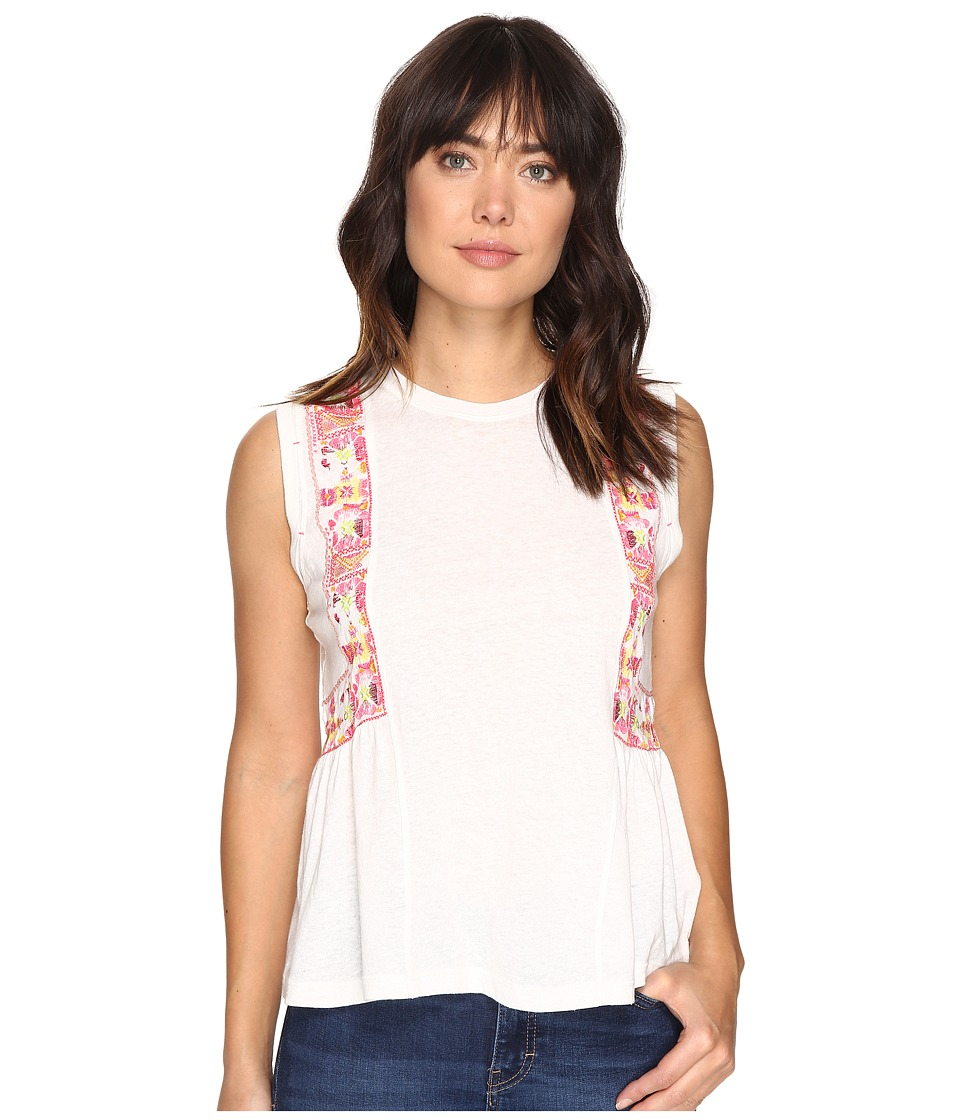 Free People - Marcy Tank Top (Ivory) Women's Sleeveless