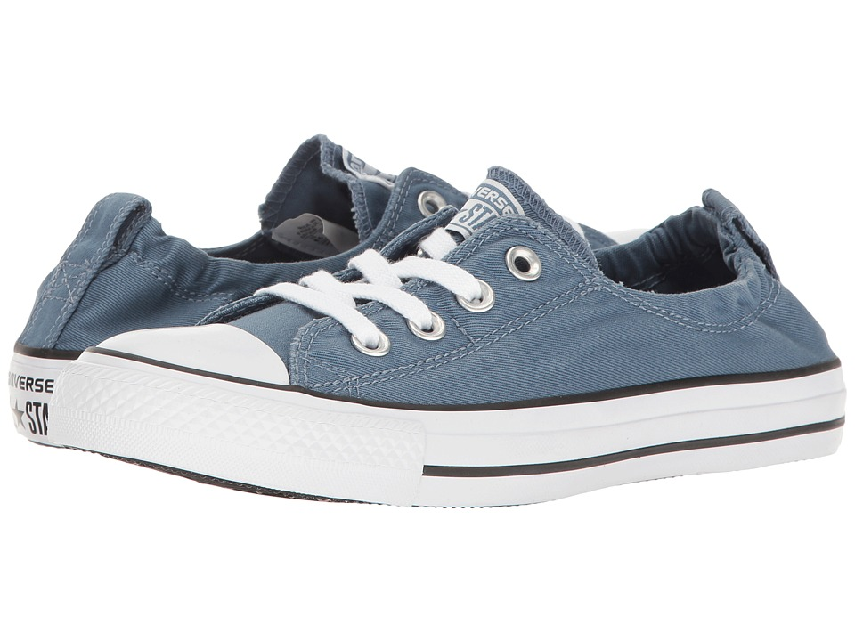 Converse Chuck Taylor All-Star Shoreline Slip Washed (Blue Coast/White) Women