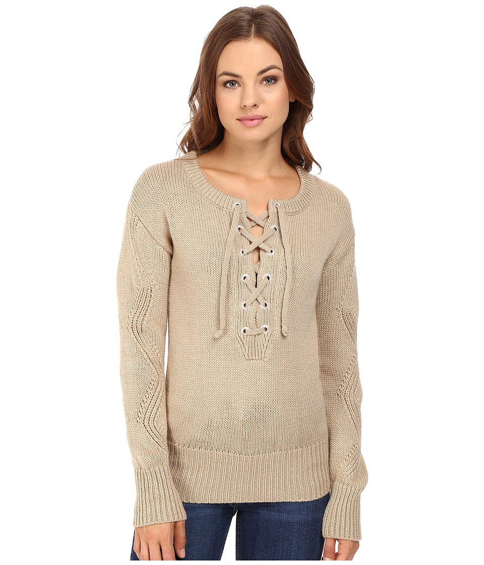 Capulet - Brighton Henley Sweater (Pebble) Women's Sweater