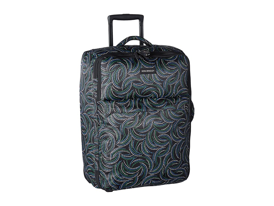 Vera Bradley Luggage - Large Foldable Roller (Kiev Swirls) Suiter Luggage