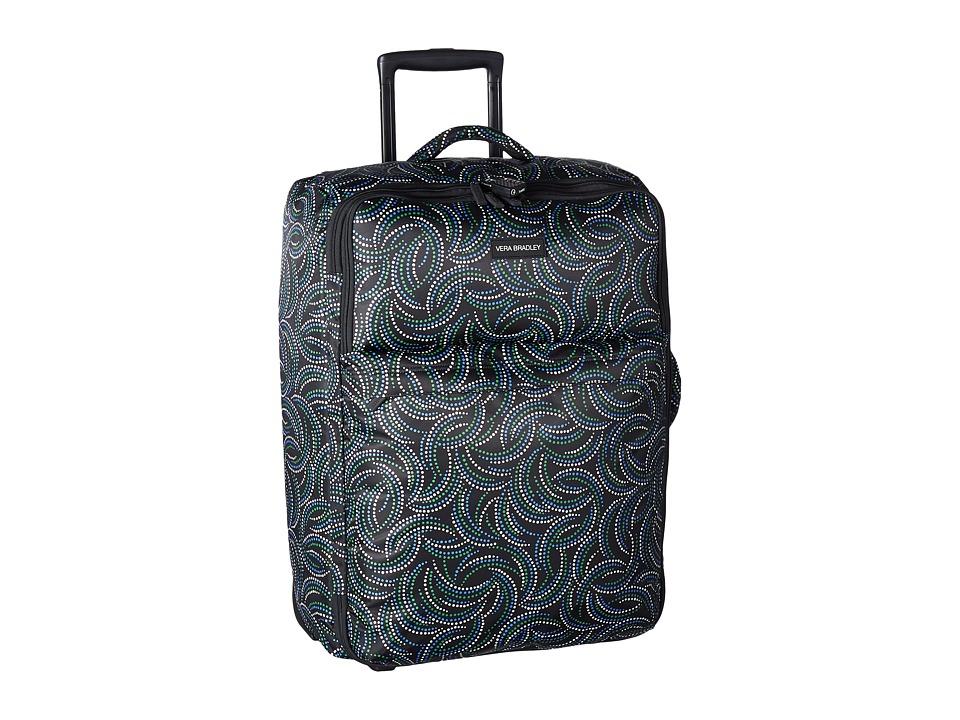 Vera Bradley Luggage - Large Foldable Roller (Kiev Swirls) Suiter Luggage